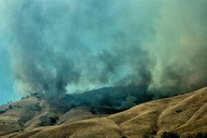 Shell Fire in Kern County by Russ Allison Loar
