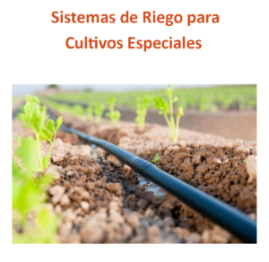 Image of drip irrigation in an agricultural field. Cover image for a fact sheet